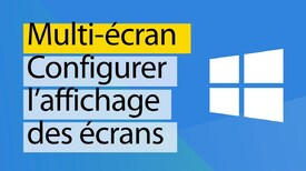 Windows 10 - Configurer l'affichage en multi écran - YouTube