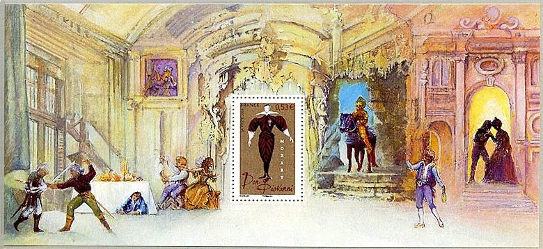 Image du timbre Souvenir philatélique Don Giovanni - 1787