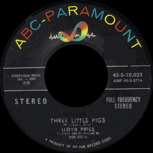 "Lloyd Price ‎"" Mr. ''Personality'' "" ABC-Paramount Records ABCS-297 [ US ] en 1959"