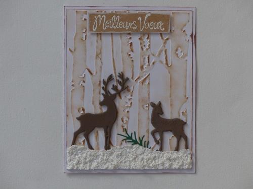 Quelques créations de cartes de Noël et autres..