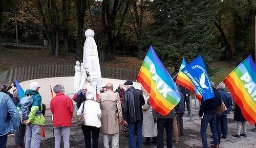 Un 11 Novembre 2018 pacifiste à Château Arnoux