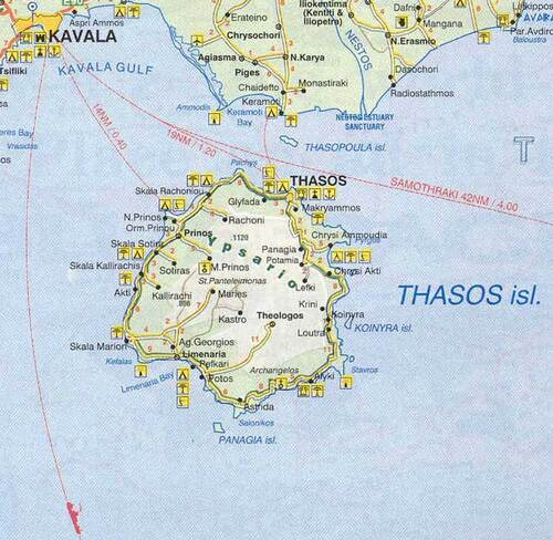 carte Thasos