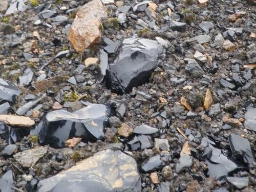 Obsidienne de Hrafntinnusker