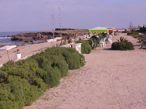 La terrasse du restau