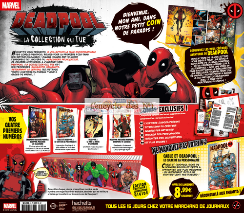 N° 1 Deadpool la collection qui tue - Test