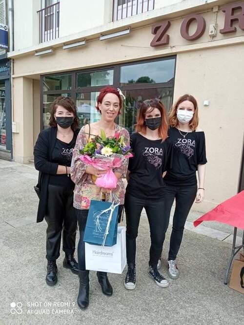 Le salon de coiffure Zora , de Châtillon sur Seine, a fait des heureux !