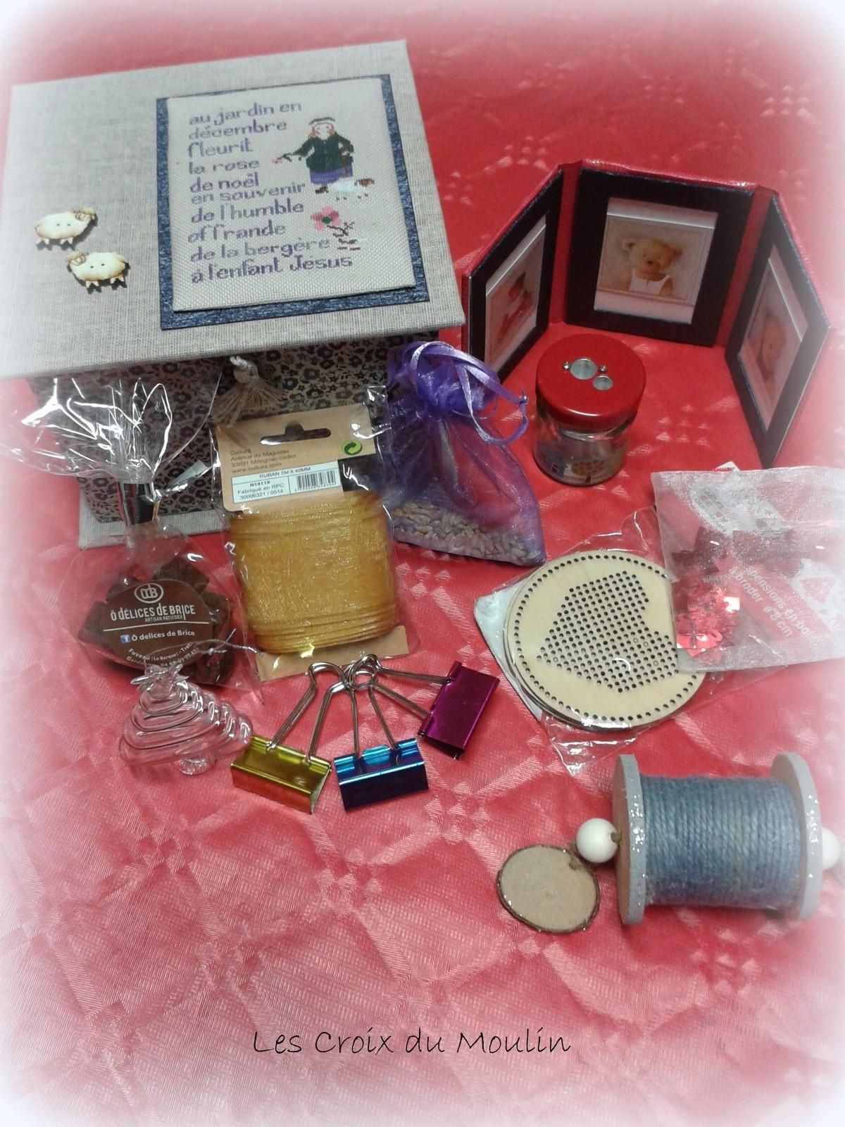 Les cadeaux d' Anne Marie pour Mathilde