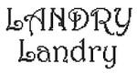 Dictons de la St Landry + grille prénom !
