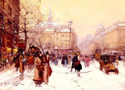 Peintures de : Eugène Galien LALOU