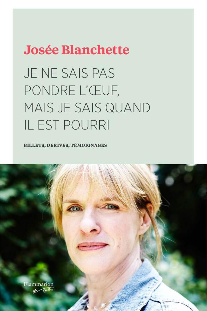 Livres à Lire:  Josée Blanchette : guérie mais en colère