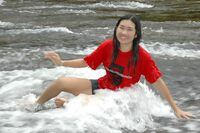 Dans les remous de la rivière