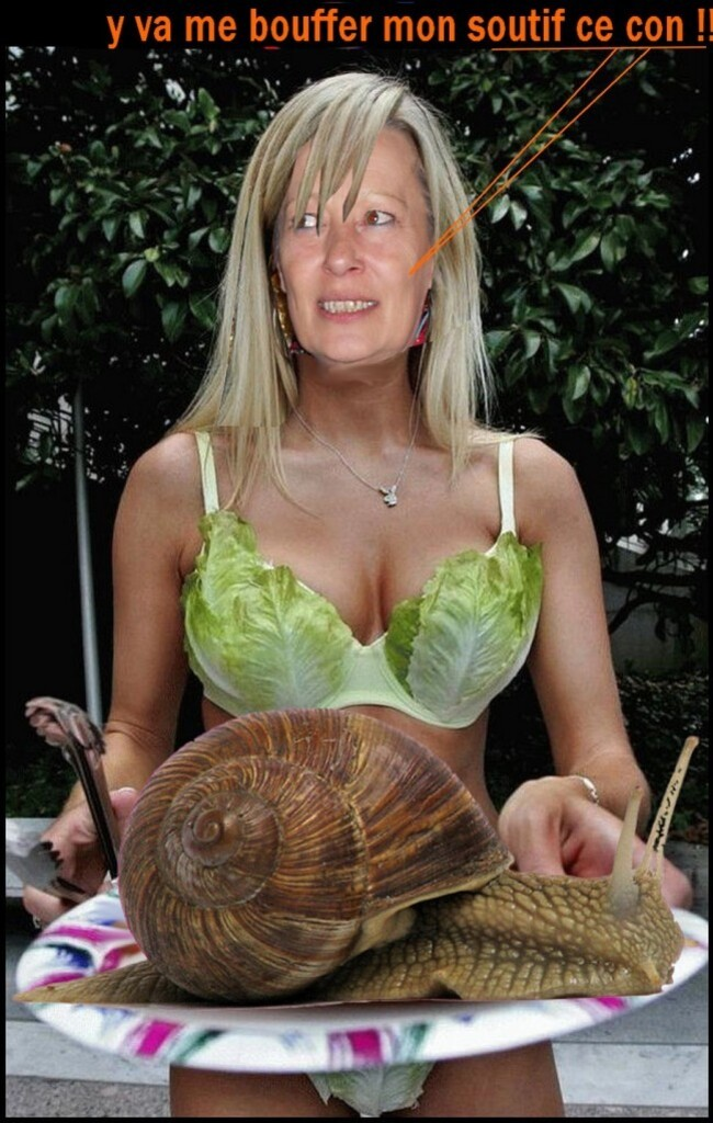 Christine feuille de salade