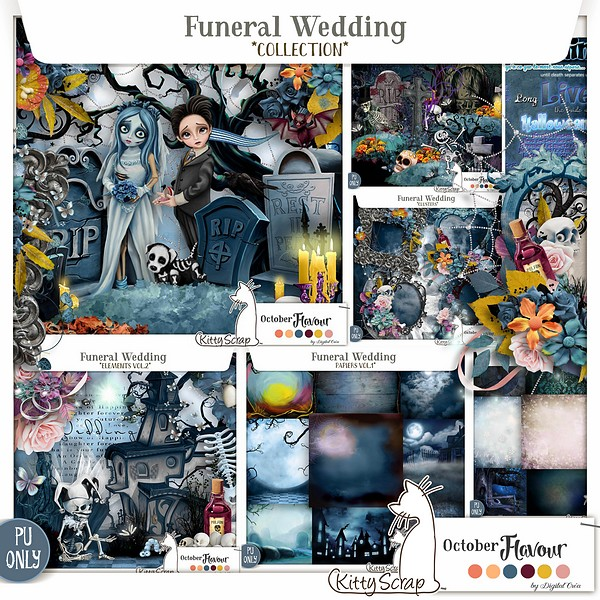 COLLECTION Funeral Wedding de kittyscrap