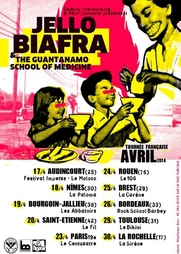 Jello Biafra and the Guantanamo - Tournée en France