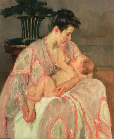 Le tableau du samedi s'associe aux mères qui allaitent