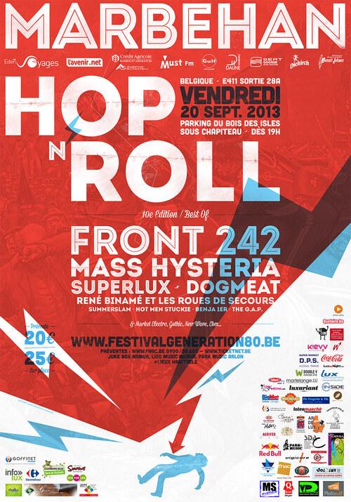 Hop'N'Roll Festival / Festival Génération 80/90