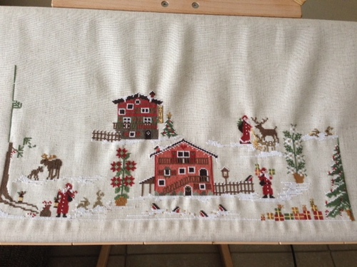 Sal Christmas Village.