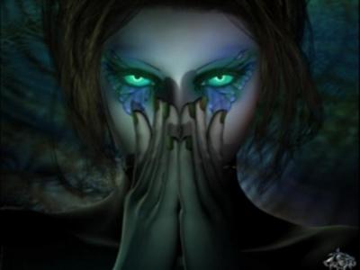Mon inconnu aux yeux verts étincelants