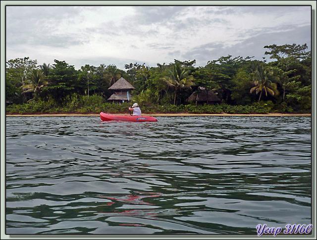 """Blog de images-du-pays-des-ours : Images du Pays des Ours (et d'ailleurs ...), Notre """"château"""" (bungalow) au Al Natural Resort - Isla Bastimentos - Bocas Del Toro - Panama"""
