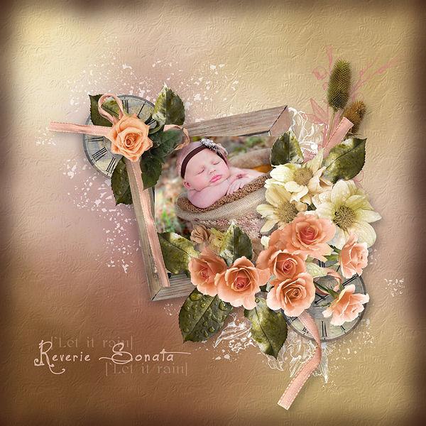 """""""Wood and Roses"""" de Paprika et Doudou's D"""