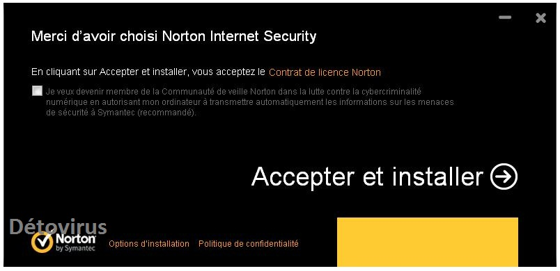 NORTON INTERNET SECURITY 2013 GRATUIT CLUBIC