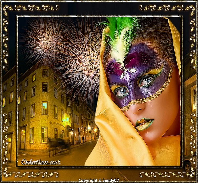 Création... Carnaval