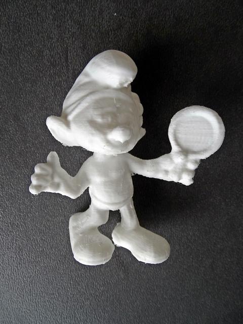 schtroumpf coquet imprimante 3D