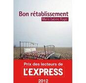 5 titres du menu Gourmet du Bibliodéfi 2013