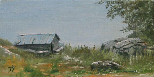 Peintures de : Bernard Guedon