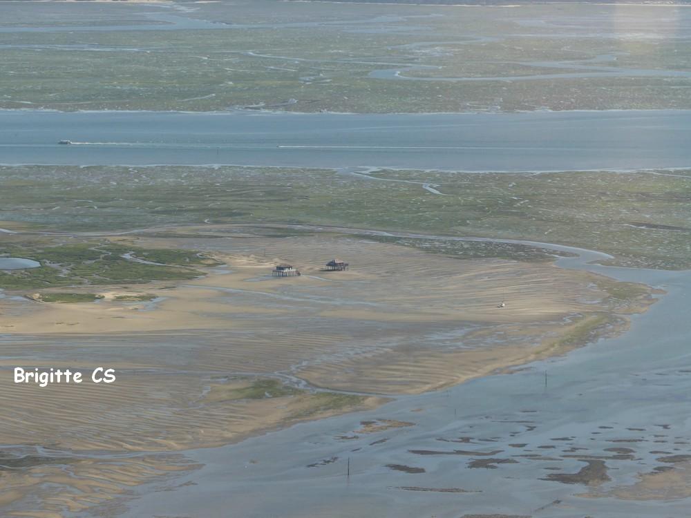Vol en U.L.M. 2017 : survol de l'Ile aux oiseaux et des cabanes tchanquées...