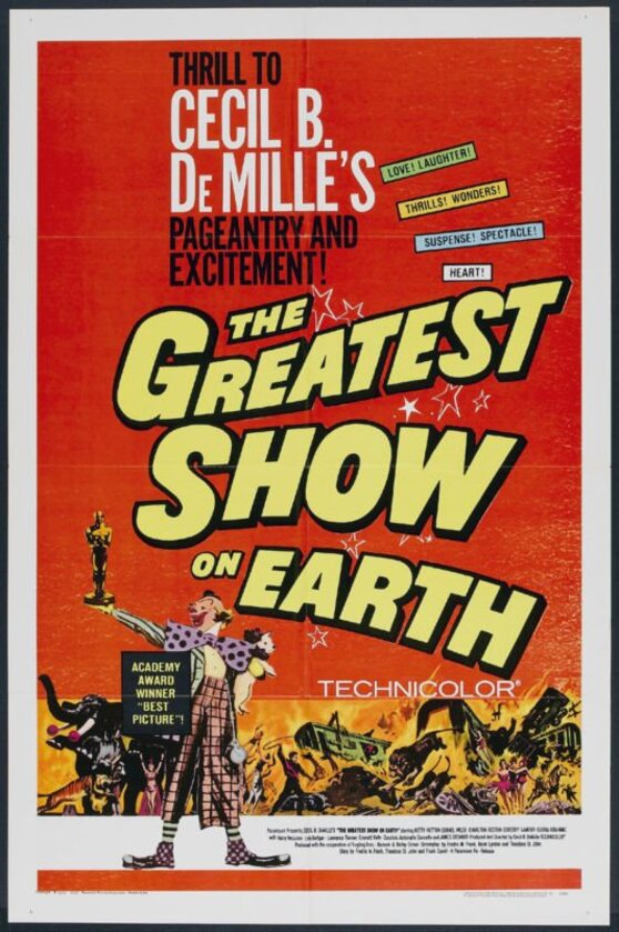 THE GREATEST SHOW ON EARTH box office usa 1967