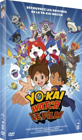 "Concours Yo-Kai Watch Le Film ""DVD Blu-ray Cinéma"""