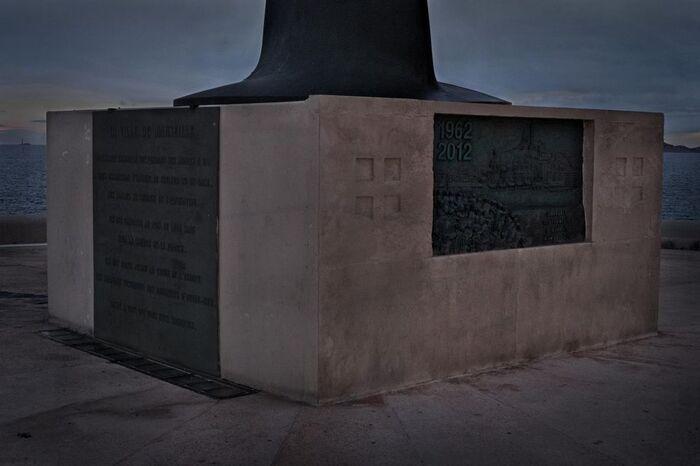 Ebauche de mémorial pour Paul Teitgen et tous les disparus d'Algérie