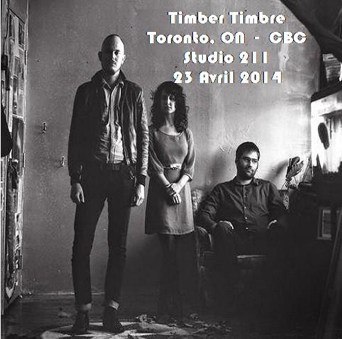 Le choix des lecteurs? Timber Timbre - 24 mars 2014 - Toronto FM