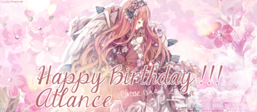 Bonne anniversaire Atlance !!!