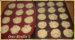Mini-cakes au Surimi et au Saumon fumé