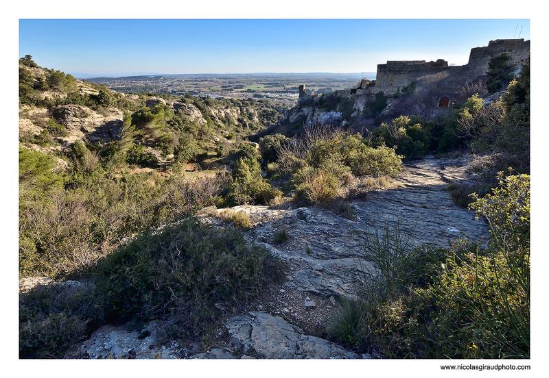 Cité féodal de Mornas en Provence