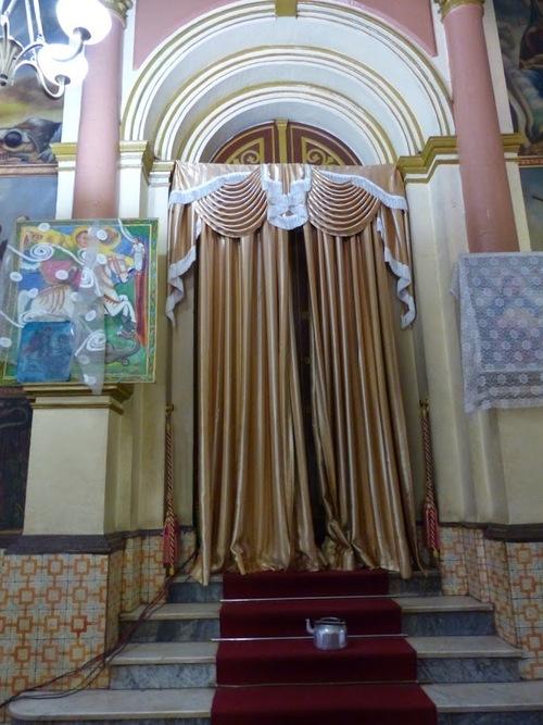 les peintures murales de l'église St-Georges