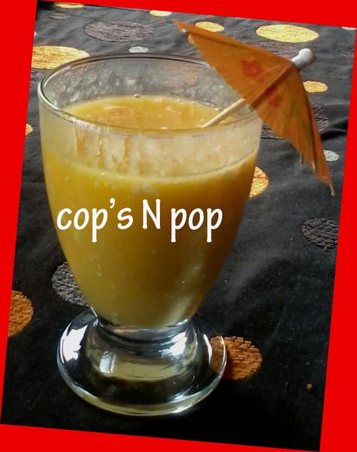 Milkshake exotique aux guimauves  coco