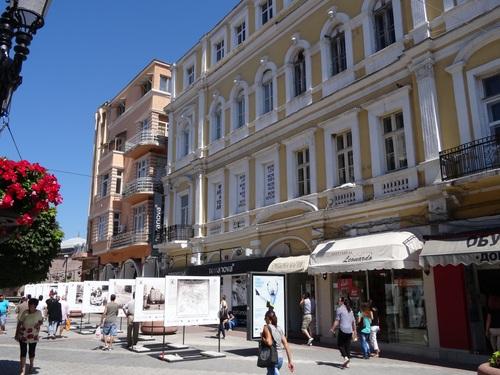 Plovdiv en Bulgarie; autour du stade romain (photos)