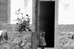 Santo Antão : scènes de vie en N&B
