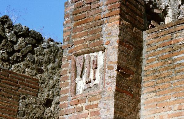 Pompei : enseigne