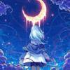 Fille sous clair de Lune