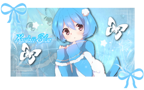 Signature Kawaii Blue