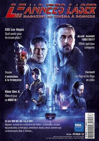 """Les Années Laser N° 249 février 2018 """"Magazine"""""""