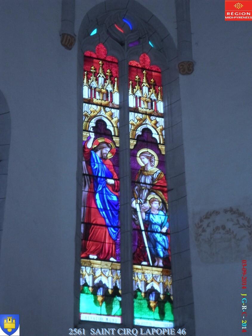 EGLISE DE Saint CIRQ LA POPIE  46 2/2  03/09/2014  D 07/04/2015