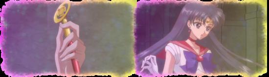 Rei devient Sailor Mars