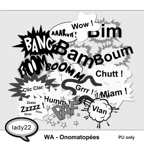 WA-Onomatopées