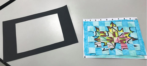 Une technique artistique - le WEAVING PAPER