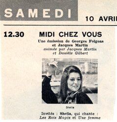 10 avril 1971 / MIDI CHEZ VOUS